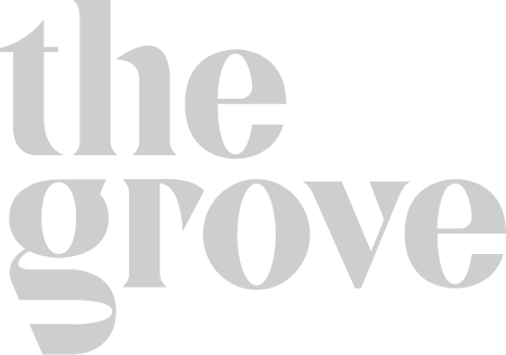 The Grove logo grey