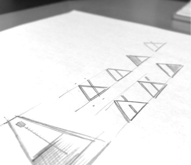 Metronome Pencil Sketch