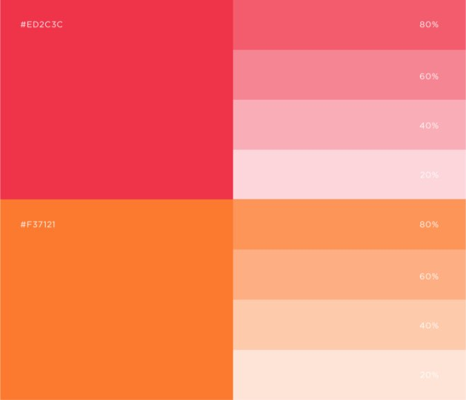 Esku color palette accent
