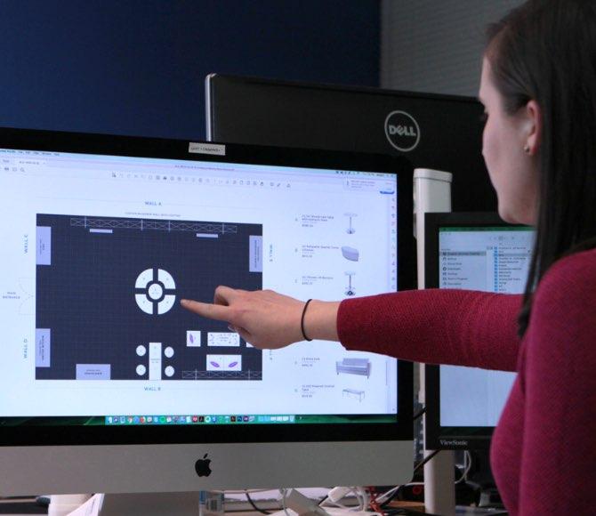 Metronome design layout