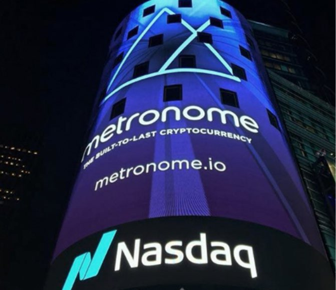 Metronome Billboard