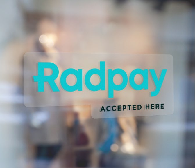 Radpay accepted here