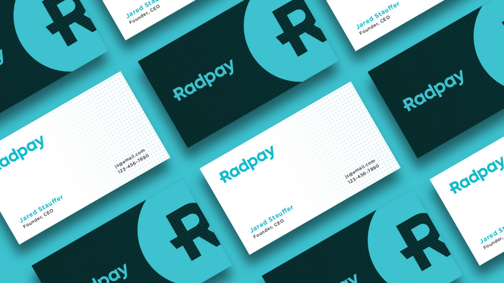 Radpay business cards