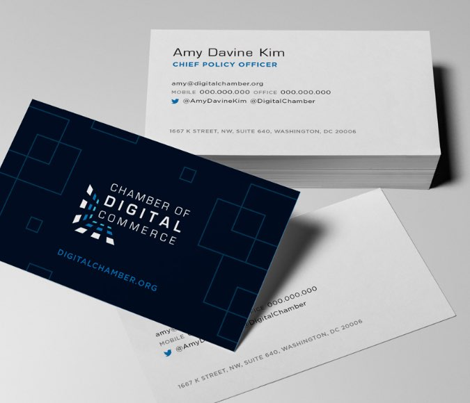 Chamber business cards