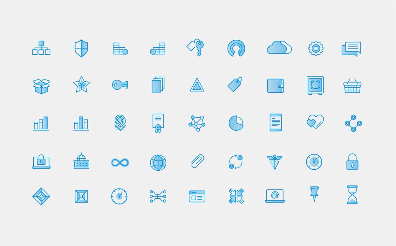 Bloq icon grid