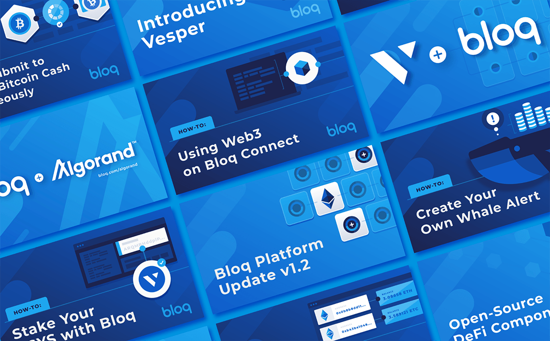 bloq assorted featured images for blog posts