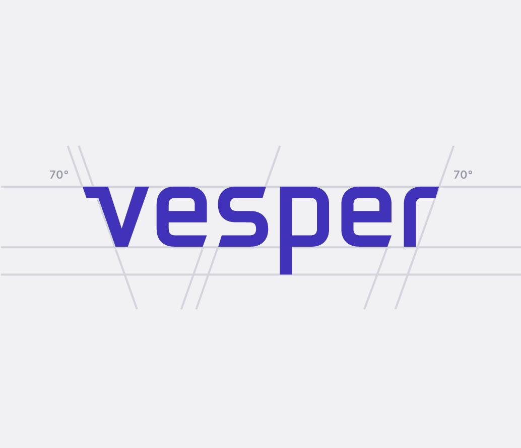 Vesper logo comp